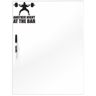 Bodybuilding Fitness Gym Dry-Erase Board