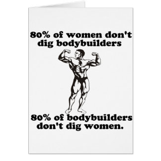 Bodybuilding Gay humor Greeting Cards