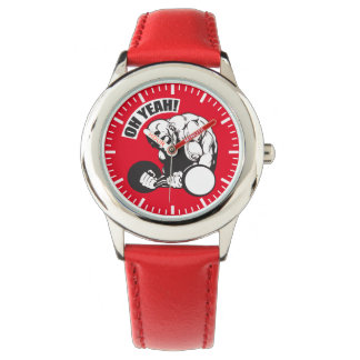 Bodybuilding Gym Workout - Bicep Curl - OH YEAH! Wrist Watches
