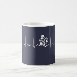 BODYBUILDING HEARTBEAT COFFEE MUG