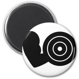 bodybuilding icon 2 inch round magnet