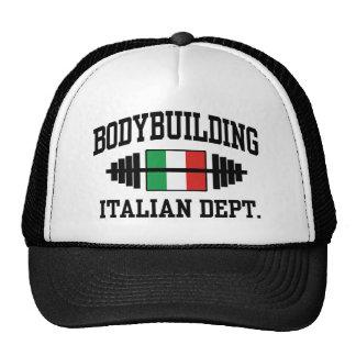 Bodybuilding italiano gorras de camionero