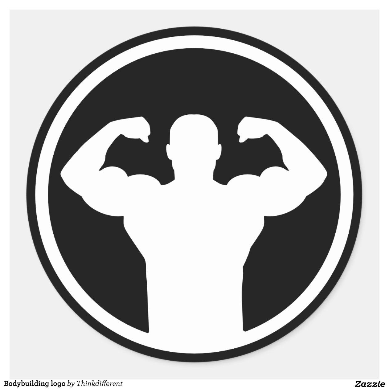 R Symbol Logo Bodybuilding logo classic