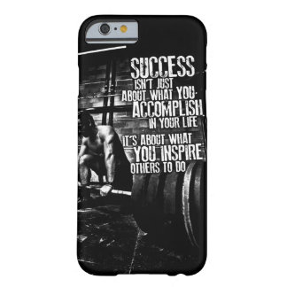 Bodybuilding Motivation Barely There iPhone 6 Case