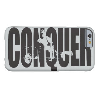 Bodybuilding Motivation - Conquer Barely There iPhone 6 Case