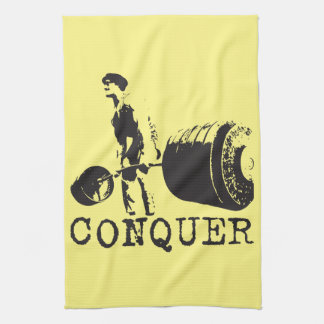 Bodybuilding Motivation - Conquer Hand Towels