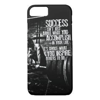 Bodybuilding Motivation iPhone 7 Case