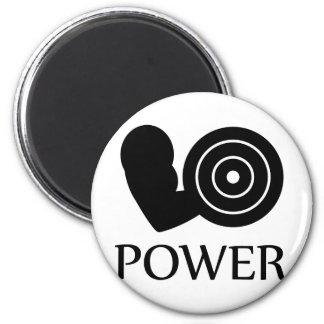 bodybuilding power 2 inch round magnet