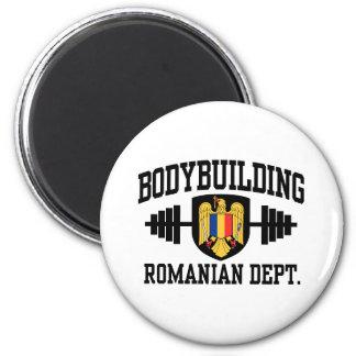 Bodybuilding rumano imán redondo 5 cm