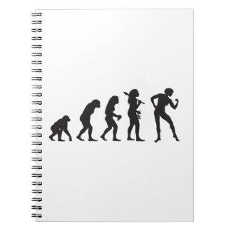Bodybuilding Spiral Notebook