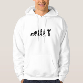 Bodybuilding Sweatshirt - hooded style