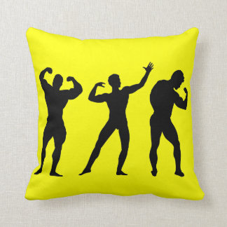 Bodybuilding Throw Pillow