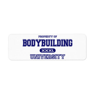 Bodybuilding University Label