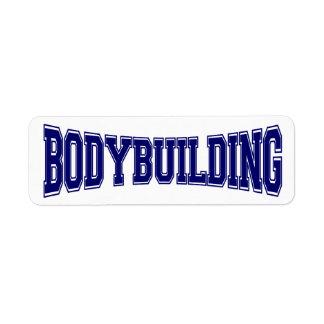 Bodybuilding University Style Label