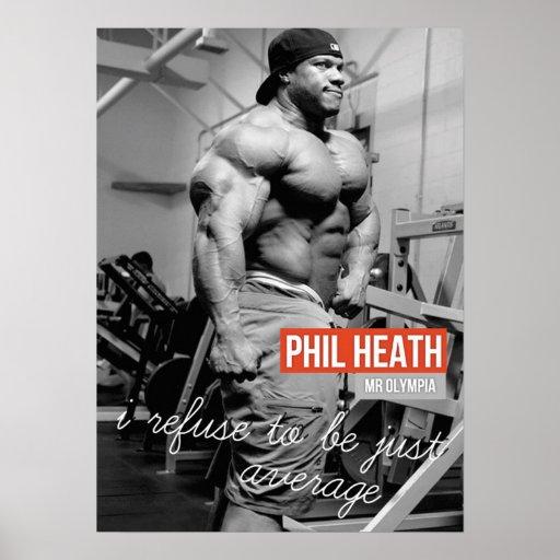 Bodybuilding Workout Fitness Motivational Poster