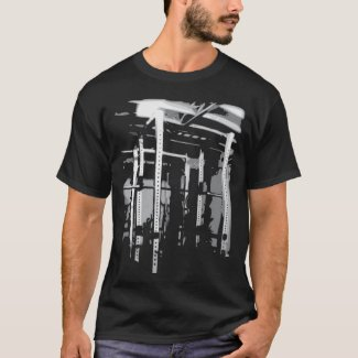 Bodybuilding Workout Picture- Squat Rack T-Shirt