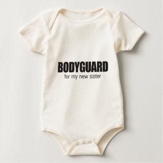 bodygaurd for my new sister baby bodysuit