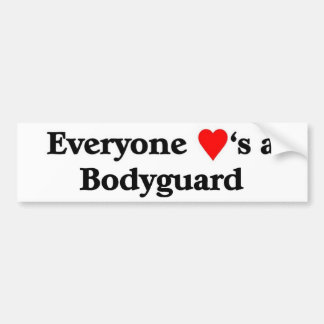 Bodyguard Bumper Stickers