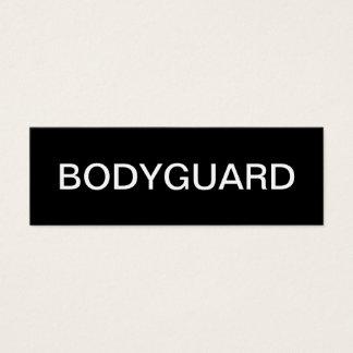 Bodyguard Business Cards