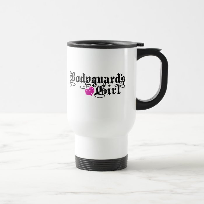 Bodyguard's Girl Travel Mug