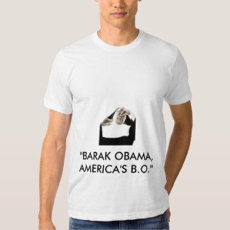 """bodyodor, """"BARAK OBAMA, los B.O. de AMÉRICA """" Playera"""