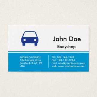 Bodyshop / Car repair Business Card