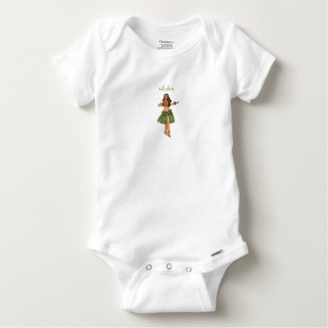 Toddler & Baby themed Bodystocking Cotton Baby Surfing Baby Onesie