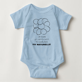 Bodystocking for baby. Embryo 10 FIVn cells Baby Bodysuit