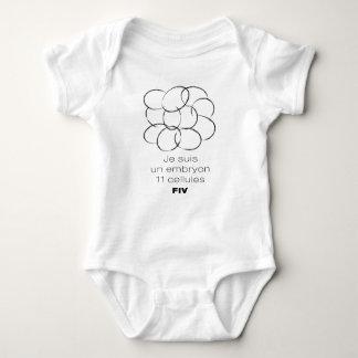 Bodystocking for baby. Embryo 11 cells FIV Baby Bodysuit