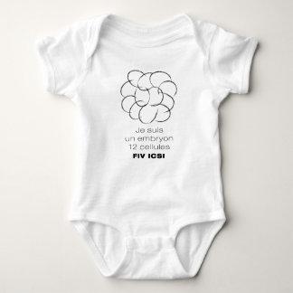 Bodystocking for baby. Embryo 12 cells ICSI Baby Bodysuit