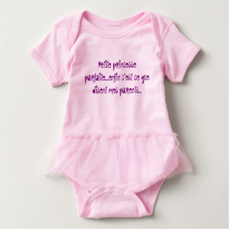 bodystocking has flying for a small princess baby bodysuit
