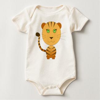 Bodystocking the tiger jungle idea gift green oran baby bodysuit