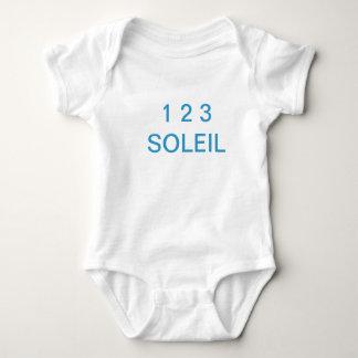 Bodystocking white 1 2 3 sun 18 months baby bodysuit