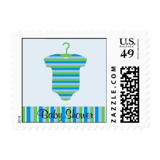 Bodysuit Baby Shower Stamp