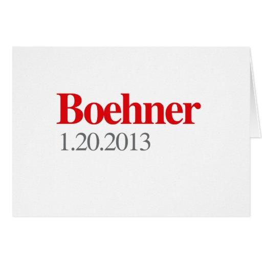 BOEHNER 1-20-2013 GREETING CARD