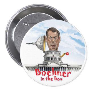 Boehner in the Box Pinback Button