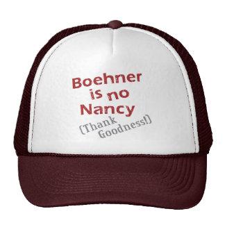 Boehner is no Nancy (Thank Goodness!) Trucker Hats