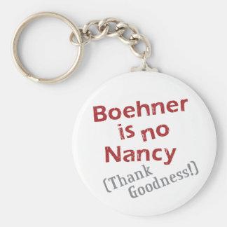 Boehner no es ninguna Nancy (agradezca la calidad! Llaveros Personalizados