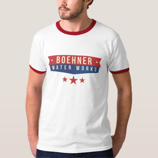 Boehner Water Works Company T-shirt