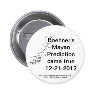 Boehner's Mayan Prediction Came True On 12-21-2012 Pin