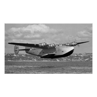 "Boeing 314 Clipper 16""x28"" Poster"