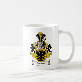 Boelens Family Crest Classic White Coffee Mug