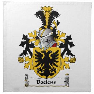 Boelens Family Crest Cloth Napkins