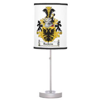 Boelens Family Crest Desk Lamps