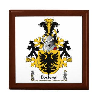 Boelens Family Crest Keepsake Boxes