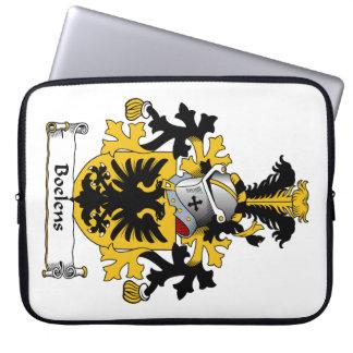 Boelens Family Crest Laptop Sleeve