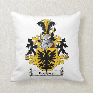 Boelens Family Crest Pillows