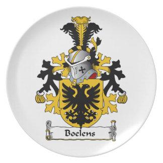Boelens Family Crest Plate