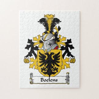 Boelens Family Crest Puzzle