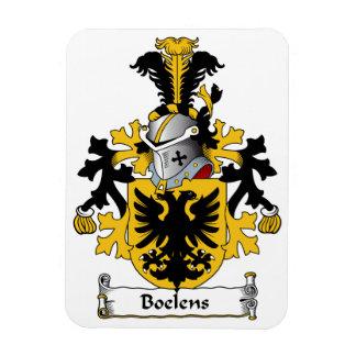 Boelens Family Crest Rectangular Photo Magnet
